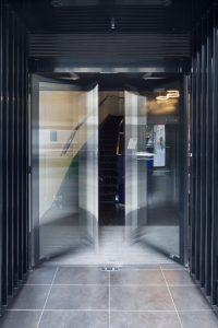 Porte battante automatique Lacroix